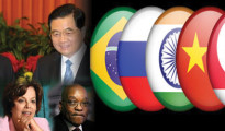 Manmohan in China for BRICS Summit